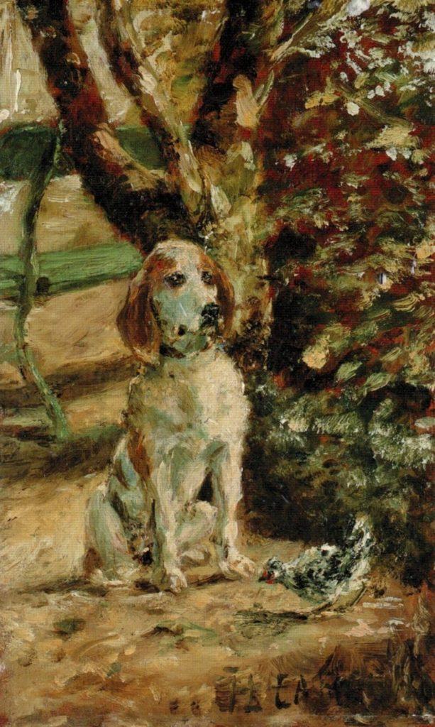 Toulouse-Lautrec Flèche dog  image